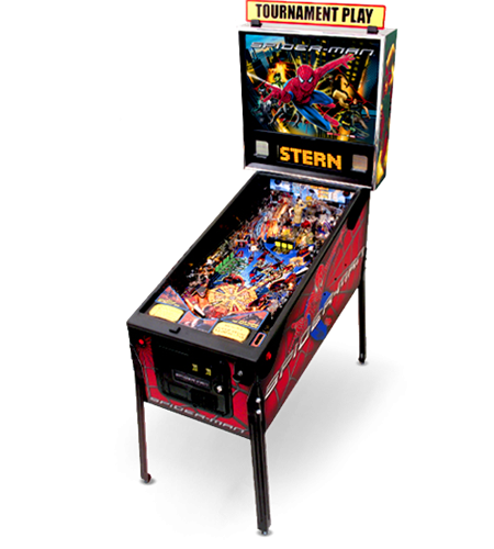 SPIDERMAN Stern Pinball