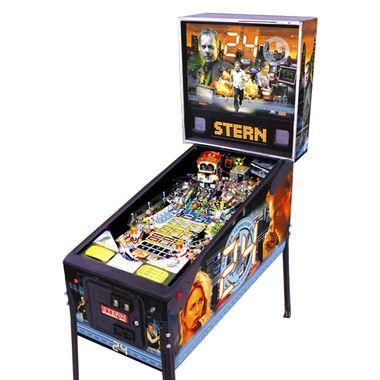 24 H Stern Pinball