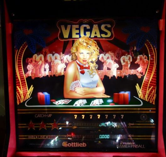 Flipper Vegas Gottlieb