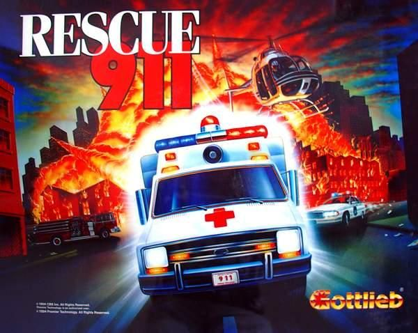 Flipper 911 Rescue Gottlieb