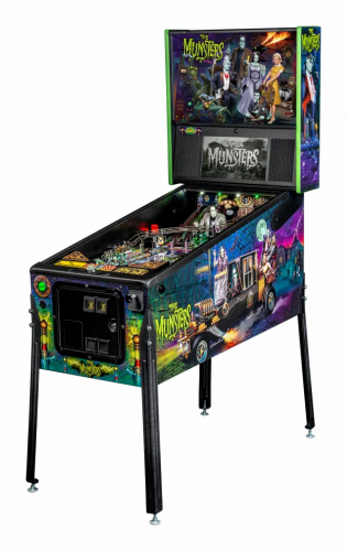 THE MUNSTERS Stern Pinball