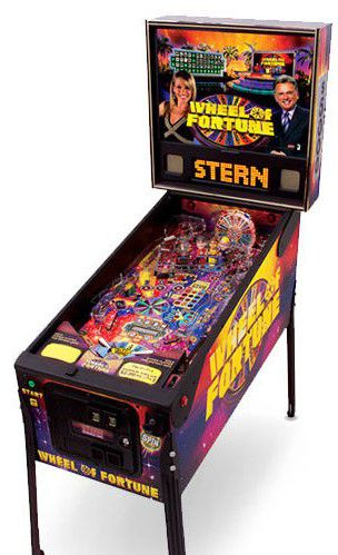WHEEL OF FORTUNE Stern Pinball