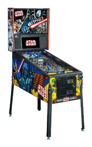 STAR WARS COMIC ART Stern Pinball