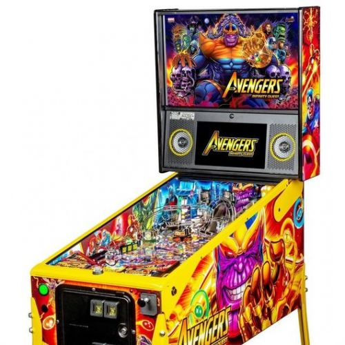 AVENGERS INFINITY QUEST LIMITED EDITION Stern Pinball