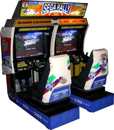 SEGA RALLY 1 Sega