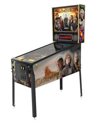 Flipper Game of Thrones Pro Stern Pinball