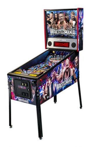 Flipper WWE Wrestlemania Pro Stern Pinball