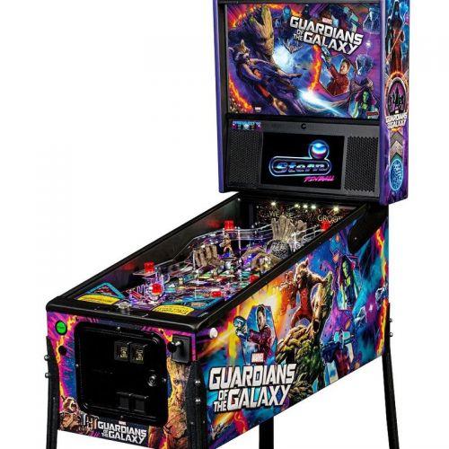 Flipper Guardians Of The Galaxy Premium Stern Pinball