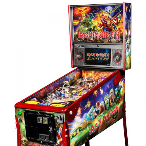 Flipper Iron Maiden Limited Edition : Legacy of The Beast Stern Pinball